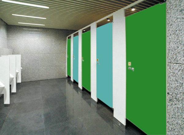 木质卫生间隔板