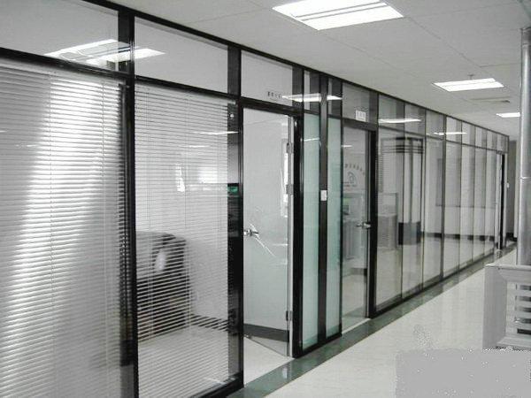 办公玻璃高隔
